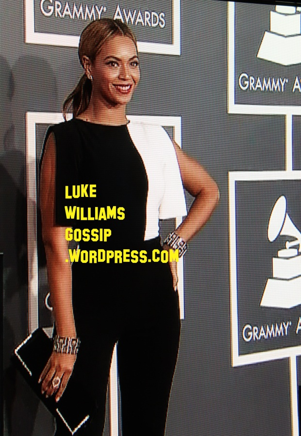beyonce grammys red carpet