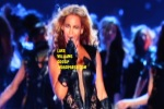 beyonce winks at super bowl 2013