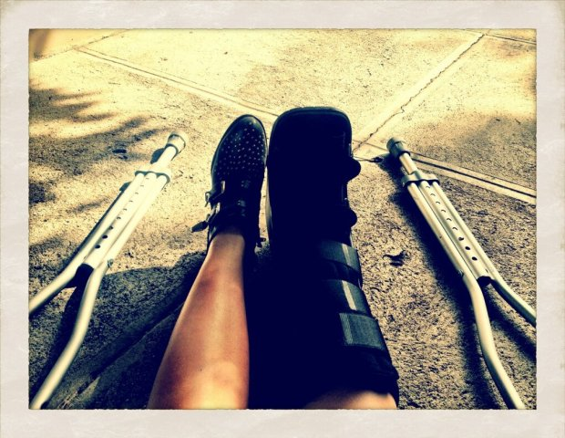 Demi Lovato Shows Off Her Foot Injury!