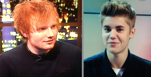 Ed Sheeran Is Not A Fan Of Justin Bieber?