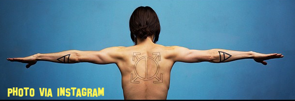 Jared Leto Celebrates Getting 1 Million Twitter Followers By Getting A Tattoo