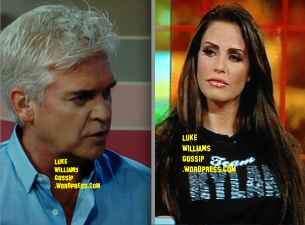 Katie Price Calls Philip Schofield A 'Bully' After He Tweets Photo Of Sarah Hardings Hair