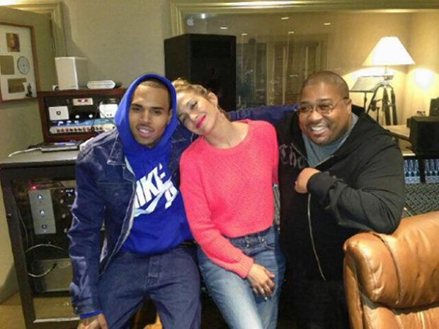 Chris Brown And Jennifer Lopez Are Making Music Together!