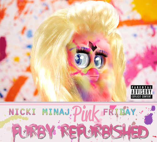 Furby Remake  Iconic Album Covers
