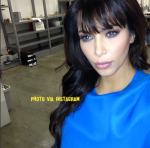 kim kardashian dark blue eyes