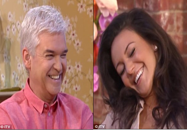 Michelle Keegan  and Philip Schofield luke williams gossip