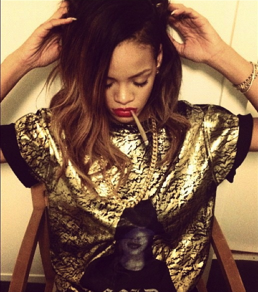 Rihanna's Tour Bus Get's Searched For Drugs And Fines Weed At Border!