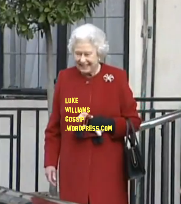 the queen leaving hospital 2013
