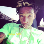 """Wiz Khalifa Has """"Got To Get Stoned!"""" But He's A New Dad!!"""
