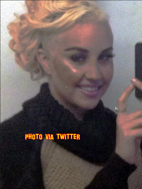 Amanda Bynes Shaves Half Her Head Off And Now Look's Like Miley Cyrus