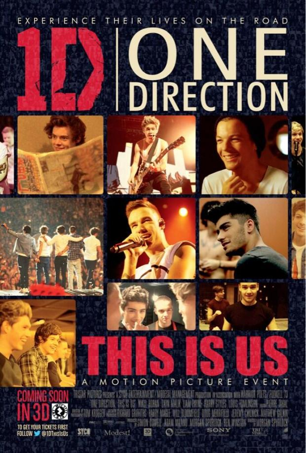 Harry Styles Tweets New One Direction Tour Movie Poster