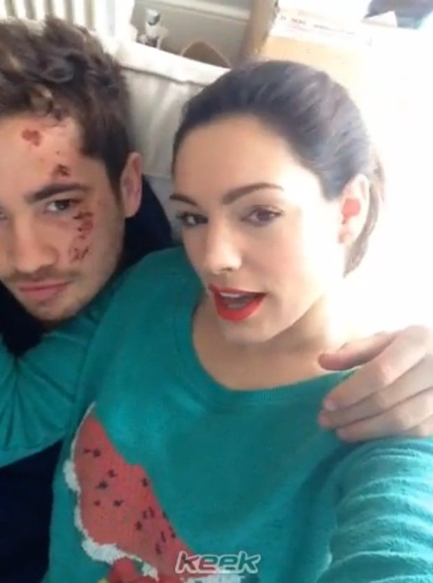Kelly Brook Takes To Keek To Deny Rumours That She Gave Boyfriend Danny Cipriani An Ultimatum