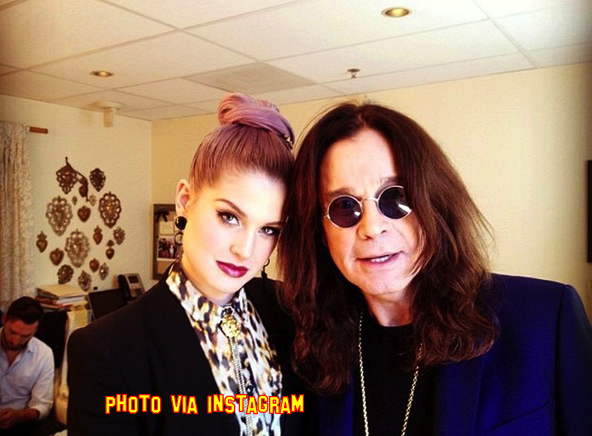 kelly osbourne and ozzy osbourne rehab