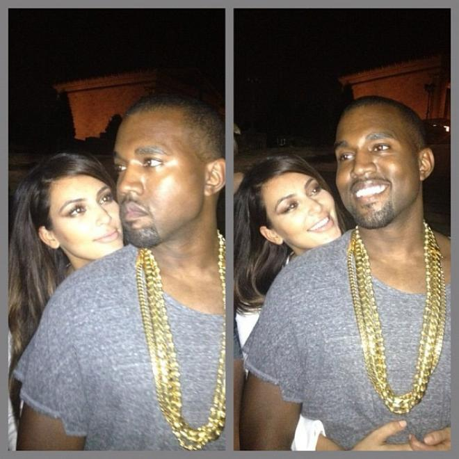 Kimmy Squeezes Her Man