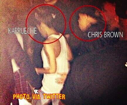 Chris Brown Spotted Out With Karrueche Tran!!