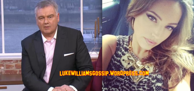Eamonn Homes Show's His Love For Kelly Brook On Twitter
