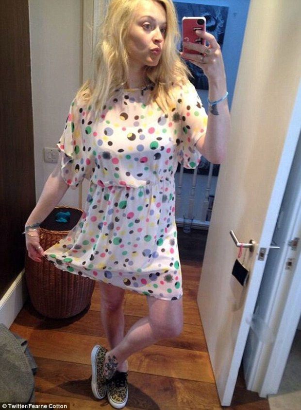 Fearne Cotton Show's She's Getting Back To Her Pre-Pregnancy Shape
