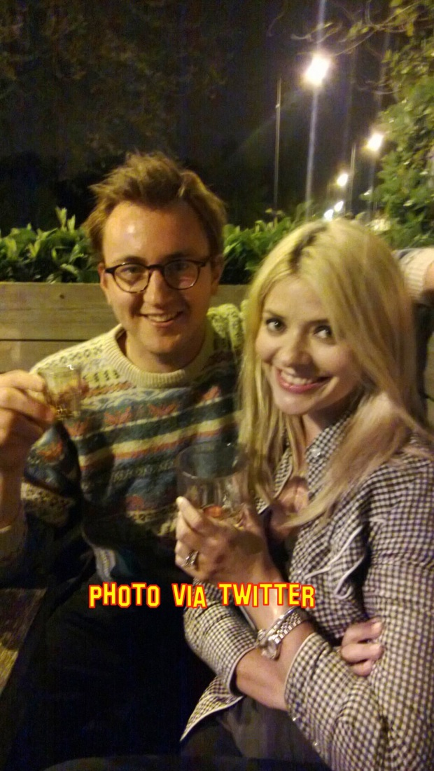 Holly Willoughby Goes On A Date To The Pub With Made In Chelsea Star Francis Boulle
