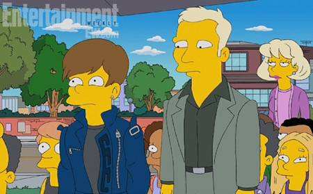 Justin Bieber Appears In The Simpsons HAVE A LOOK HERE!!!!