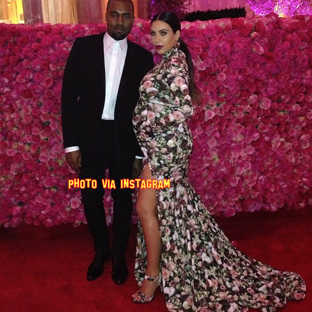 Kim Kardashian's Met Gala Gown Was Altered FIVE Times To Get Her Baby Bump In!