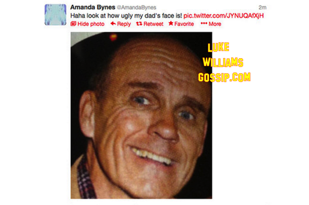 Amanda Bynes Calls Her Dad 'Ugly' On Twitter   Luke ...