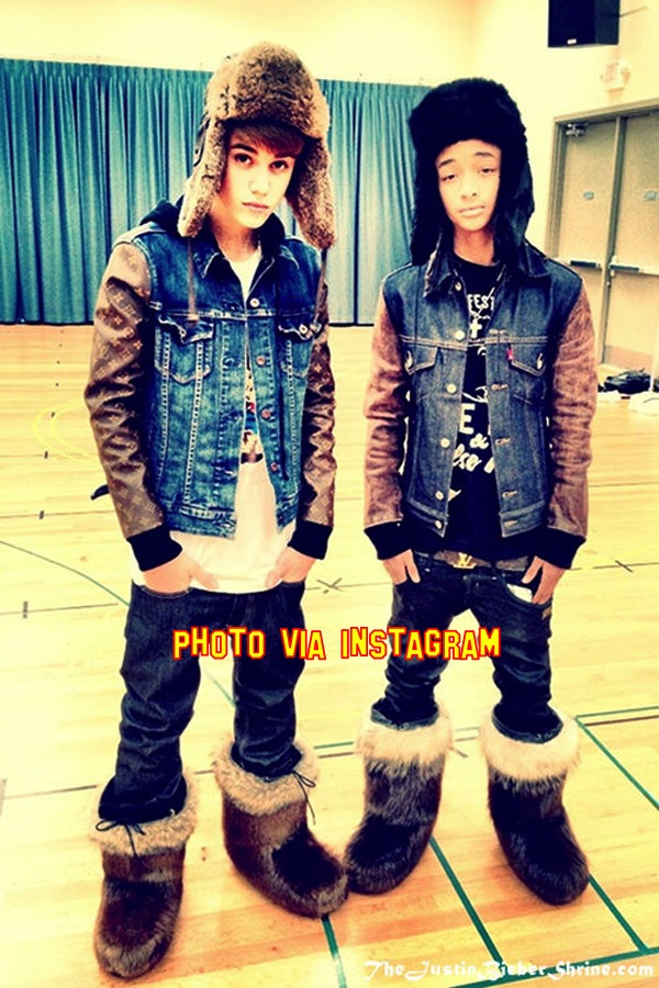 Justin Bieber & Jaden Smith Party All Night!
