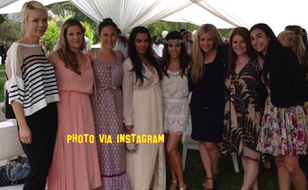at kim kardashian s baby shower it was not only celebs like kelly