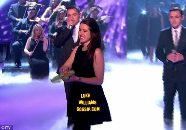 Natalie Holt Apologises For Throwing Eggs At Simon Cowell On Britain's Got Talent Final