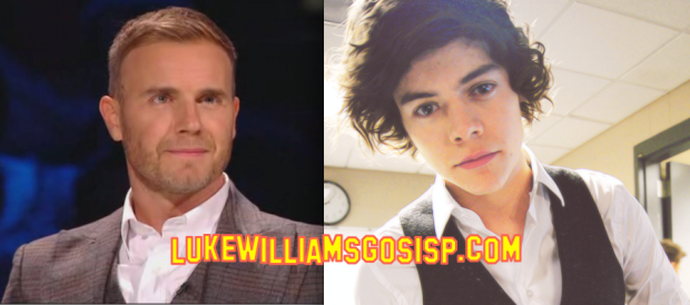 One Direction's Harry Styles Getting Tips On Making Making Music From Gary Barlow!