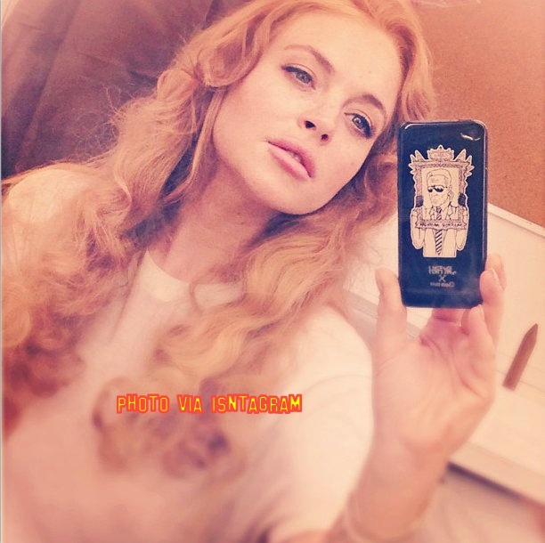 Lindsay Lohan Posts First Selfie Since Leaving Rehab!