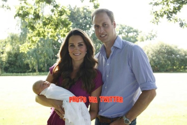 Prince William Says Prince George's Nursery Will Look Like The African 'Bush'