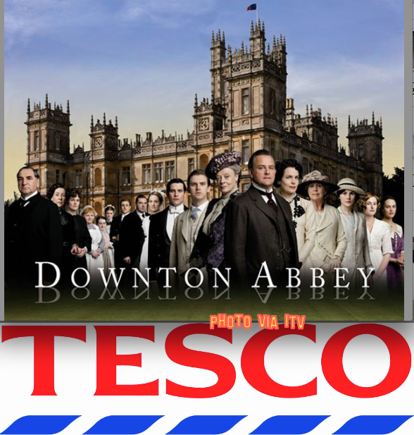Tesco To Sponsor Downton Abbey To Bost Triad After Hose meat Scandal