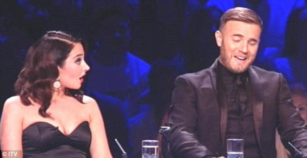 Gary Barlow Jokes About Tulisa Again As He Says 'Sharon's Breath Is So Much Better!'