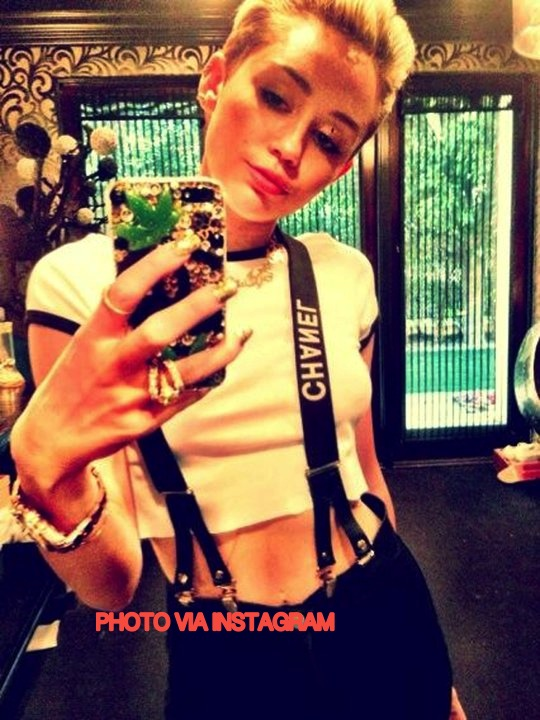 Miley Cyrus Has Lunch With Mary Jane For 7 Hours!!
